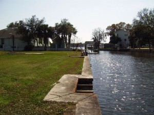 .35 acre Crystal River Waterfront lot with Seawall