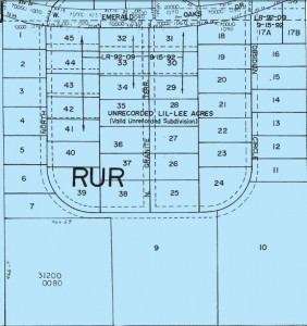 Pre-Platted Crystal River Subdivision
